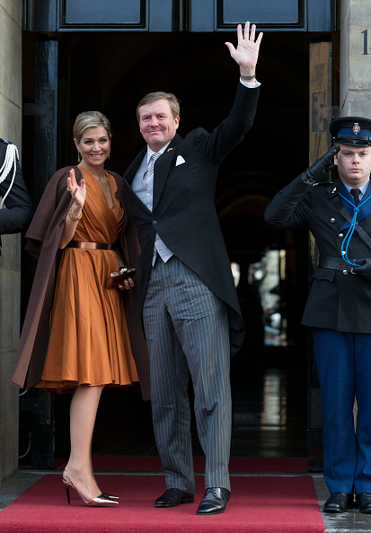 Netherlands「King Willem-Alexander and Queen Maxima Of The Netherlands Attend New Year's Reception at Royal Palace」:写真・画像(0)[壁紙.com]