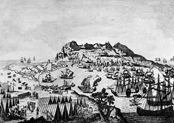 Colony - Territory「Gibraltar during the American War of Independence」:写真・画像(1)[壁紙.com]