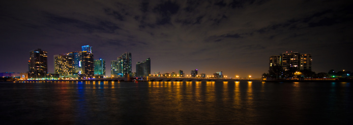 Miami Beach「ブリッケルマイアミの街並み」:スマホ壁紙(13)