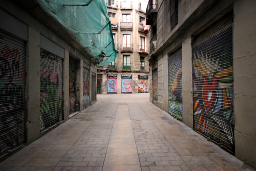 Urban Road「Barcelona, Barrio Gotico」:スマホ壁紙(1)