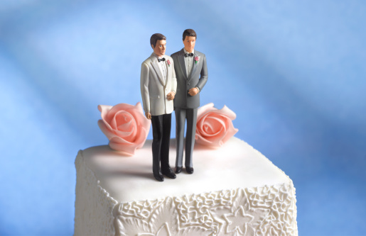 Married「Gay wedding cake figurine」:スマホ壁紙(6)