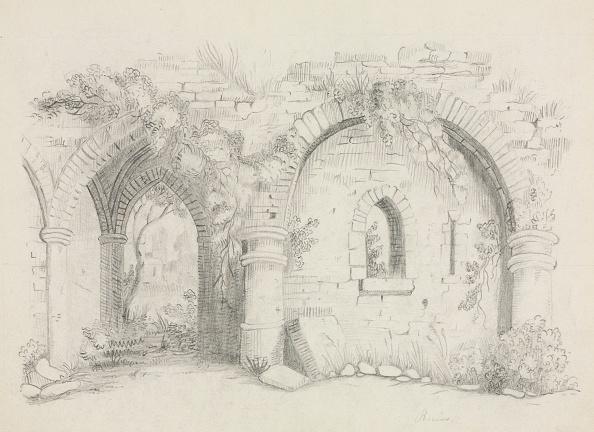 Pencil「Ruins」:写真・画像(2)[壁紙.com]