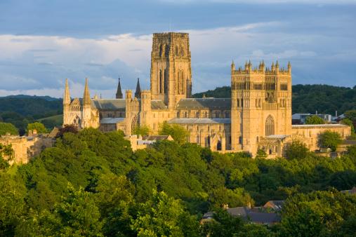 Castle「The cathedral, Durham, County Durham, England」:スマホ壁紙(16)