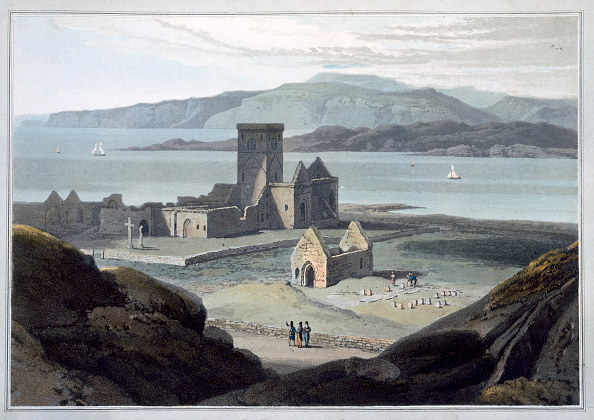 Iona「The Cathedral At Iona' Argyll And Bute Scotland 1817」:写真・画像(4)[壁紙.com]