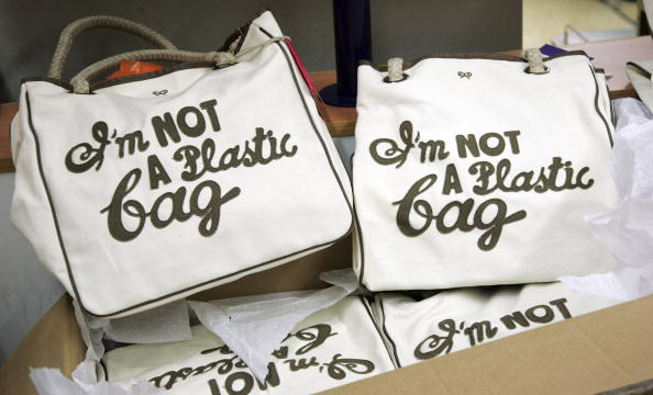 "Canvas Fabric「Sainsbury's Customers Buy Up Designer ""I'm Not A Plastic Bag""」:写真・画像(1)[壁紙.com]"