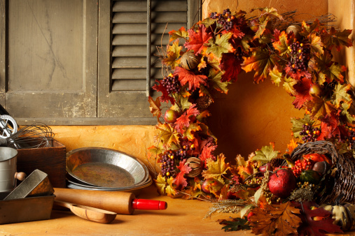 Autumn leaves「Holiday Cooking」:スマホ壁紙(2)