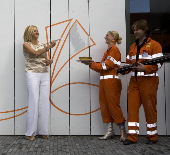 Utrecht「Dutch Princess Maxima Opens Cultural Centre」:写真・画像(2)[壁紙.com]