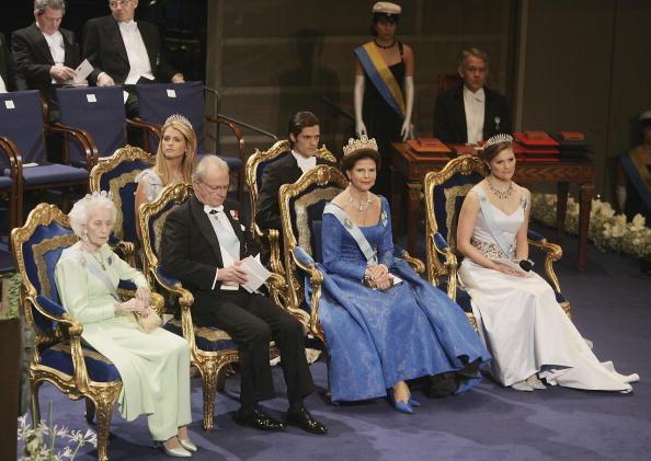 Swedish Royalty「Nobel Foundation Prize 2005」:写真・画像(12)[壁紙.com]