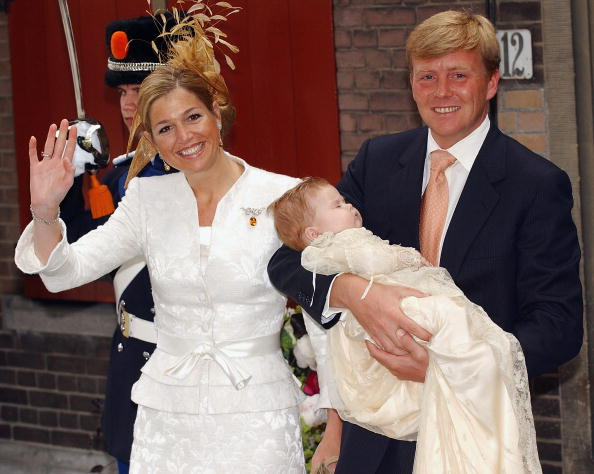Netherlands「NL: Christening Of Princess Catharina-Amalia」:写真・画像(3)[壁紙.com]