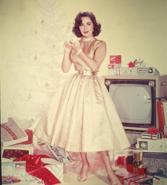 Christmas「Portrait Of Elizabeth Taylor」:写真・画像(6)[壁紙.com]