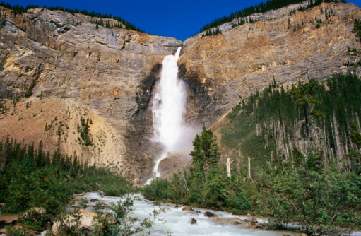 Yoho National Park「Takakkaw Falls and Yoho River, Yoho National Park, Canada」:スマホ壁紙(12)