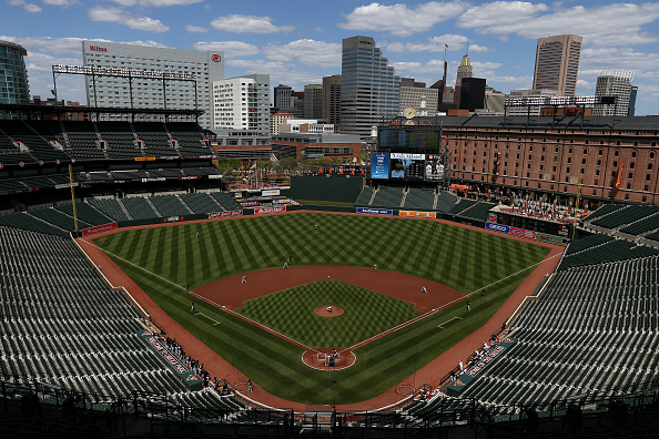 No People「Baltimore Unrest Forces Orioles Play White Sox In An Empty Camden Yards」:写真・画像(15)[壁紙.com]