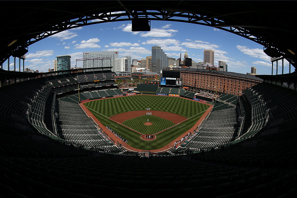 Patrick Smith「Baltimore Unrest Forces Orioles Play White Sox In An Empty Camden Yards」:写真・画像(4)[壁紙.com]