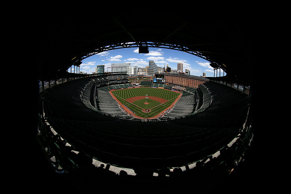 The Knife「Baltimore Unrest Forces Orioles Play White Sox In An Empty Camden Yards」:写真・画像(16)[壁紙.com]