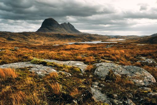 Wilderness「Suilven mountain, Sutherland, Scotland」:スマホ壁紙(5)