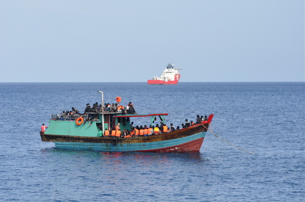 オーストラリア「Suspected Asylum Seekers Arrive At Christmas Island」:写真・画像(5)[壁紙.com]