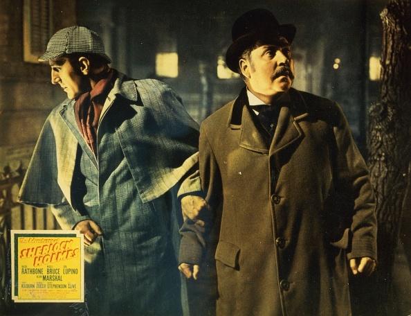 Basil「Die Abenteuer Des Sherlock Holmes, 1930Er, 1930S, Adventures Of Sherlock Holmes, The, Detektiv, Film, Kriminalfilm, Sherlock Holmes, Crime, Detective, Lobby Card」:写真・画像(13)[壁紙.com]