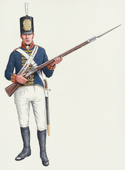 Copy Space「Napoleonic ordinary gunner from a Royal Artillery Invalid regiment c」:写真・画像(15)[壁紙.com]