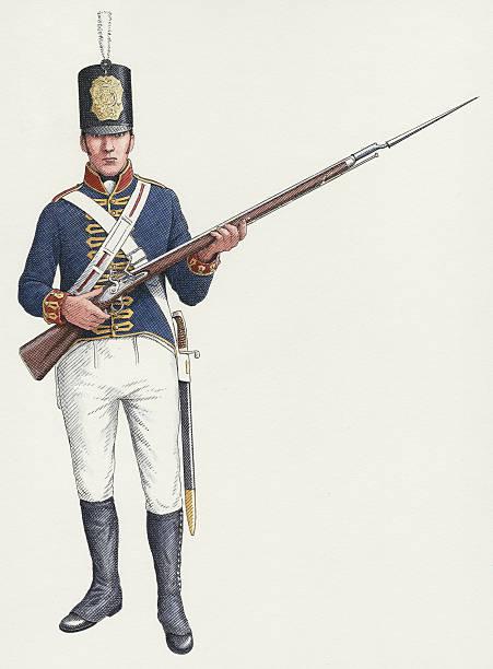 Napoleonic ordinary gunner from a Royal Artillery Invalid regiment c:ニュース(壁紙.com)