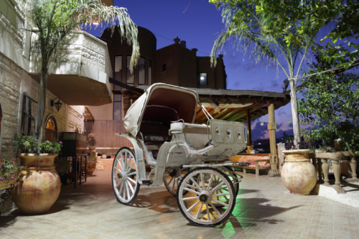 Horse-drawn carriage「おとぎ話の馬車」:スマホ壁紙(1)