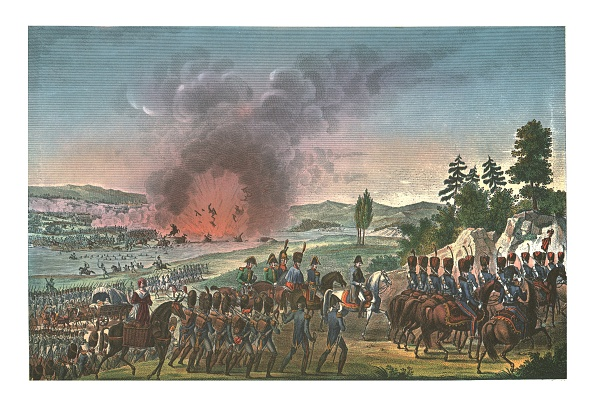 Leipzig - Saxony「Retreat Of The French After The Battle Of Leipzig」:写真・画像(2)[壁紙.com]