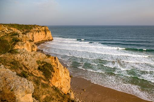 波「Praia do Canavial near Lagos, Algarve」:スマホ壁紙(18)