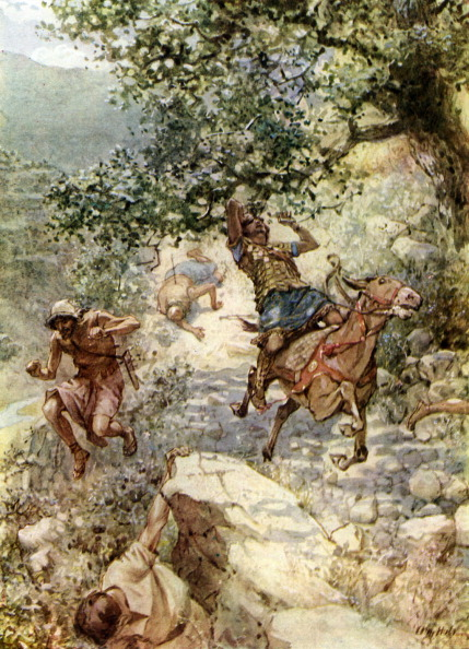 Bible「The death of Absalom」:写真・画像(15)[壁紙.com]