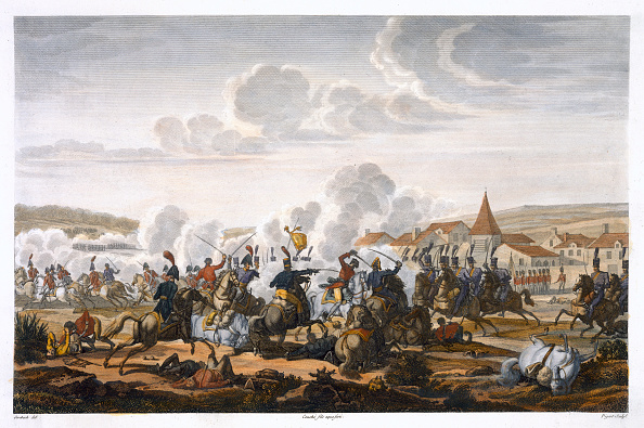 Etching「The Death Of Prince Ludwig Of Prussia At The Battle Of Saalfed 10 October 1806'」:写真・画像(1)[壁紙.com]