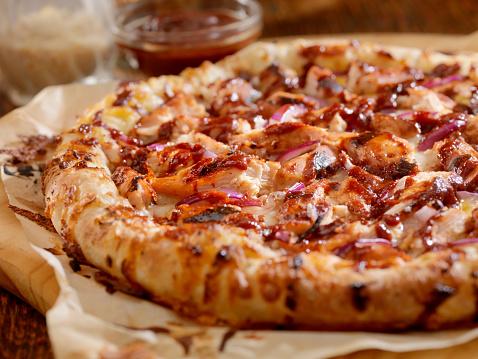 Tomato Sauce「BBQ Chicken Pizza」:スマホ壁紙(2)