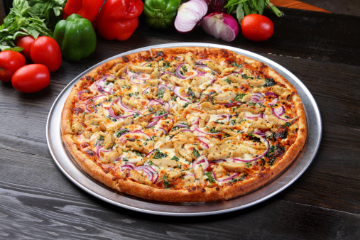 Spanish Onion「Chicken Pizza」:スマホ壁紙(17)