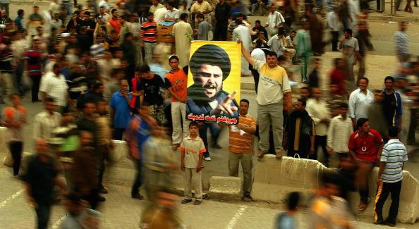 Muqtada Al-Sadr「Sadr Supporters Protest in Baghdad」:写真・画像(10)[壁紙.com]