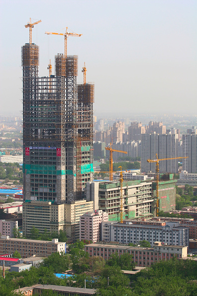 Incomplete「A new skyscraper under construction in the CBD area of Beijing」:写真・画像(19)[壁紙.com]