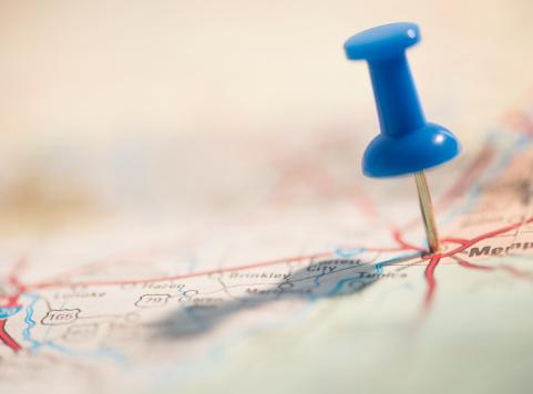 冒険「Thumbtack on map」:スマホ壁紙(2)