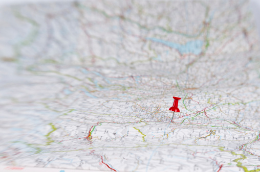 Positioning「thumbtack on huge map」:スマホ壁紙(7)