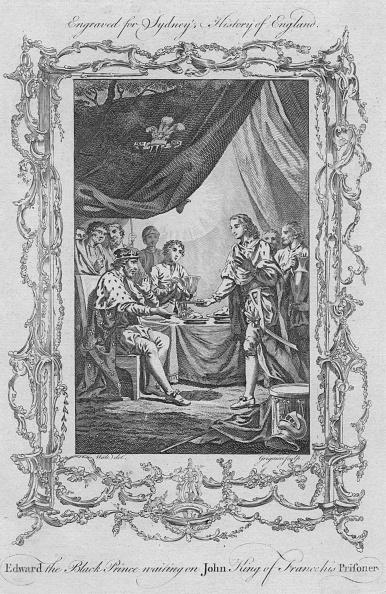 Table「Edward The Black Prince Waiting On John King Of France His Prisoner」:写真・画像(17)[壁紙.com]