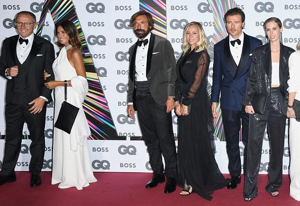 Andrea Pirlo「GQ Men Of The Year Awards 2021 - Red Carpet Arrivals」:写真・画像(18)[壁紙.com]