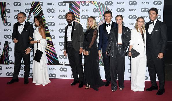 Andrea Pirlo「GQ Men Of The Year Awards 2021 - Red Carpet Arrivals」:写真・画像(17)[壁紙.com]