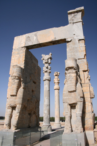 Iranian Culture「Entrance Gate in Ancient Persepolis Unesco Site Iran」:スマホ壁紙(19)