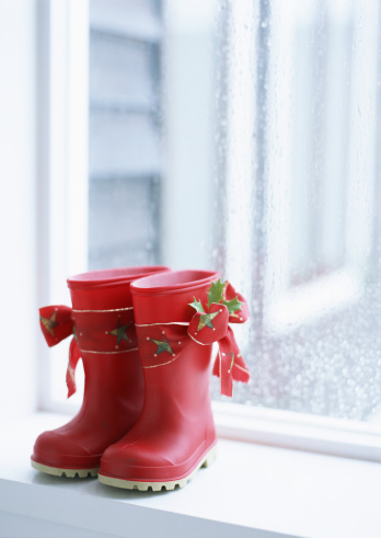 Annual Event「Red gum-boot on windowsill」:スマホ壁紙(12)