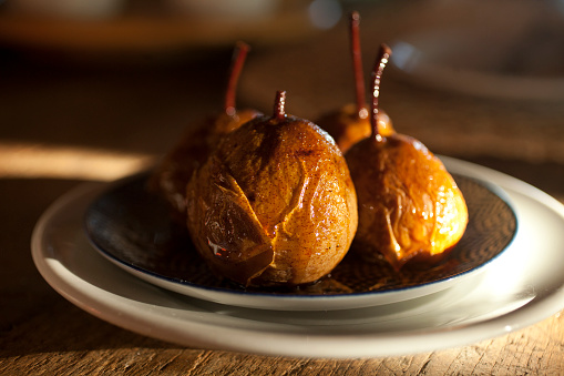 Poached Food「Poached Pears」:スマホ壁紙(6)