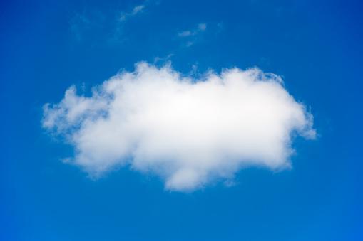 Cumulus Cloud「Cloud in blue sky」:スマホ壁紙(17)