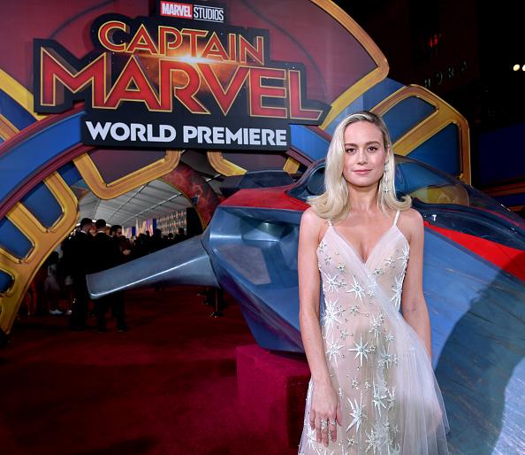 "Awe「Marvel Studios ""Captain Marvel"" Premiere - Red Carpet」:写真・画像(6)[壁紙.com]"