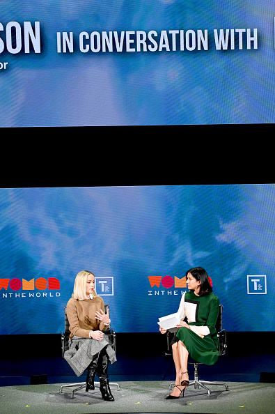 Radhika Jones「10th Anniversary Women In The World Summit」:写真・画像(14)[壁紙.com]