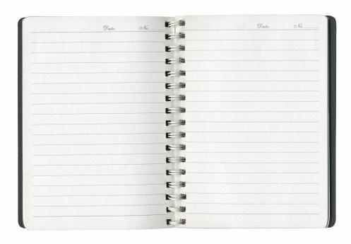 ノート柄「Notepad (メモ)」:スマホ壁紙(18)