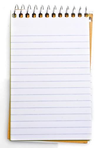 螺旋形「Notepad (メモ)」:スマホ壁紙(12)