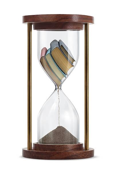 Books Transform in Hourglass:スマホ壁紙(壁紙.com)