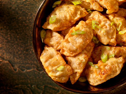 Chinese Dumpling「Pot Stickers or Dumplings」:スマホ壁紙(4)
