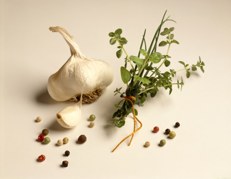 Garlic Clove「Garlic and herbs」:スマホ壁紙(3)