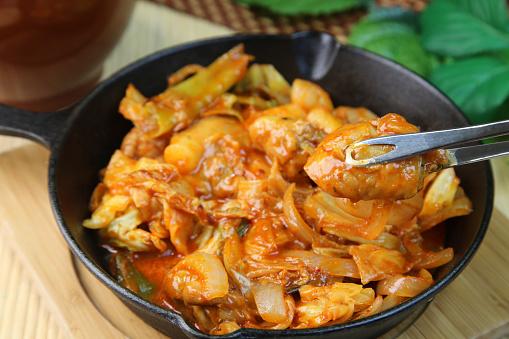 Chili Sauce「Dakgalbi (Korean spicy stir fried chicken)」:スマホ壁紙(7)