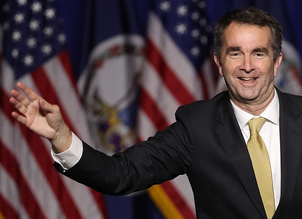 Governor「Virginia Gubernatorial Candidate Ralph Northam Holds Election Night Gathering In Fairfax, Virginia」:写真・画像(2)[壁紙.com]